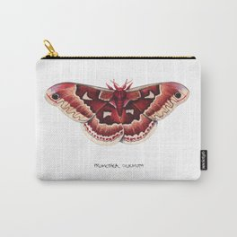 Promethea Silkmoth (Callosamia promethea) Carry-All Pouch
