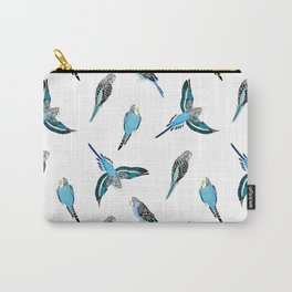 wave parrots pattern Carry-All Pouch