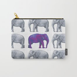 Elephants II Carry-All Pouch