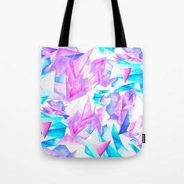 Watercolor Quartz Fragmentation Tote Bag