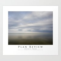 Plan Review Art Print