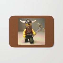Thor Custom LEGO Minifigure by Chillee Wilson Bath Mat