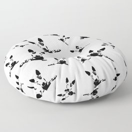 SENSATIONAL GIFTS FOR THE ENGLISH BULL TERRIER DOG LOVER FROM MONOFACES IN 2021 Floor Pillow