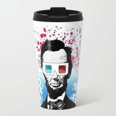 Abraham Lincoln - 3D Travel Mug