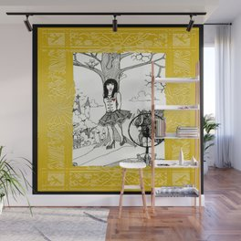 Snow White and The Hunter Wall Mural