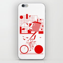 Bicycle I. iPhone Skin