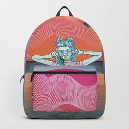 Sunset Over Vallarta Backpack