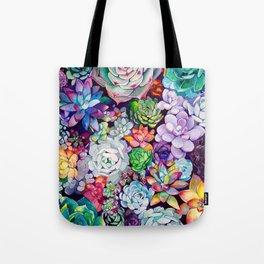 Succulent Garden Tote Bag