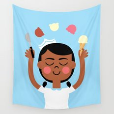 One Scoop or Two? Wall Tapestry