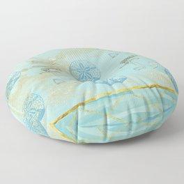 Beach Design Floor Pillow