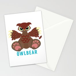 Owlbear Stationery Cards