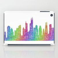 chicago bulls iPad Cases featuring Chicago by David Zydd