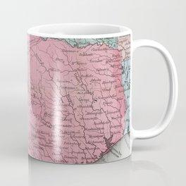 Vintage Map of Texas (1853) Coffee Mug