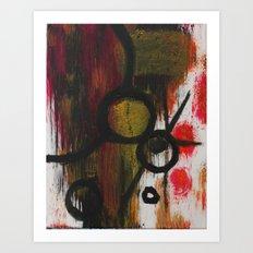 Abstract A Art Print
