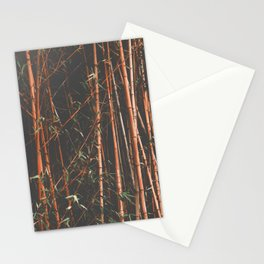 bamboo orange Stationery Cards
