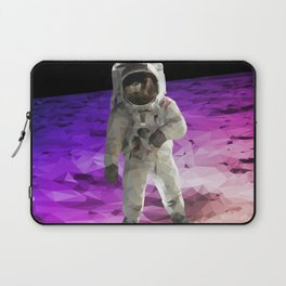 Astronaut Low Poly Laptop Sleeve