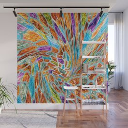 Creation Vortex Abstract Wall Mural