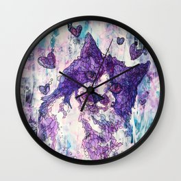 Sweet Kitty, Soft Kitty Wall Clock