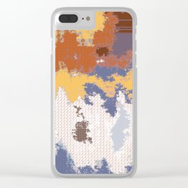Tattered Cloth Clear iPhone Case