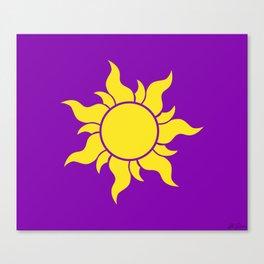 Rapunzel's Golden Sun Canvas Print
