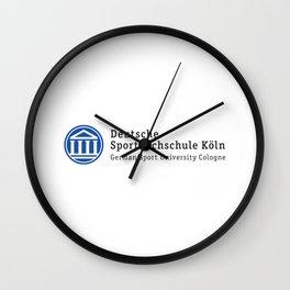 Deutsche Sporthochschule Koln Wall Clock