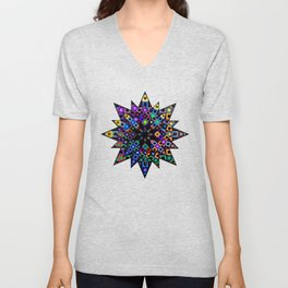 Starry Bursts Unisex V-Neck