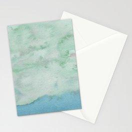 Light blue seascape Stationery Cards