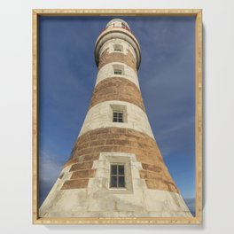 Roker lighthouse 1 Serving Tray