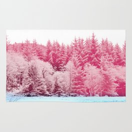 Candy pine trees Rug