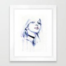 Violet (Courtney) Framed Art Print