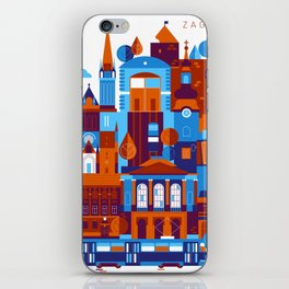 Zagreb iPhone Skin