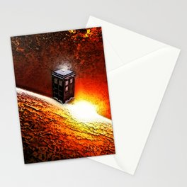 Tardis Galaxy Stationery Cards