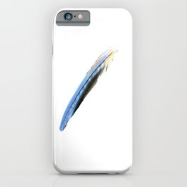 Cobalt Blue Feather: Graphics iPhone Case