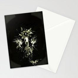 Siren splash gothic Stationery Cards