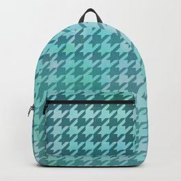 Dogtooth & Houndtooth Aqua Splash Backpack