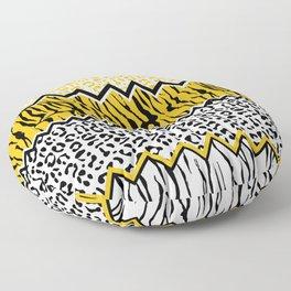 wild stripes pattern Floor Pillow