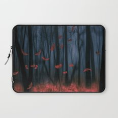 Red feather dance  (colour option) Laptop Sleeve
