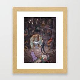 Headmaster's Office Framed Art Print