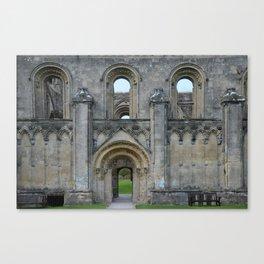 Glastonbury Abbey 1 Canvas Print
