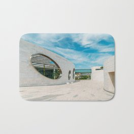 Champalimaud Foundation Centre For The Unknown, Wall Art Print, Modern Architecture Art Bath Mat