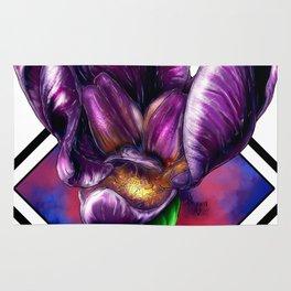 Purple Flora Rug