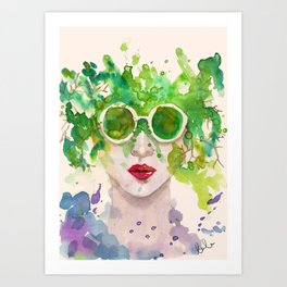Natural Mind / Mentalmente Natural Art Print