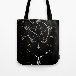 A Tarot of Ink 10 of Pentacles Tote Bag