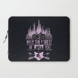 Forest Ride Laptop Sleeve