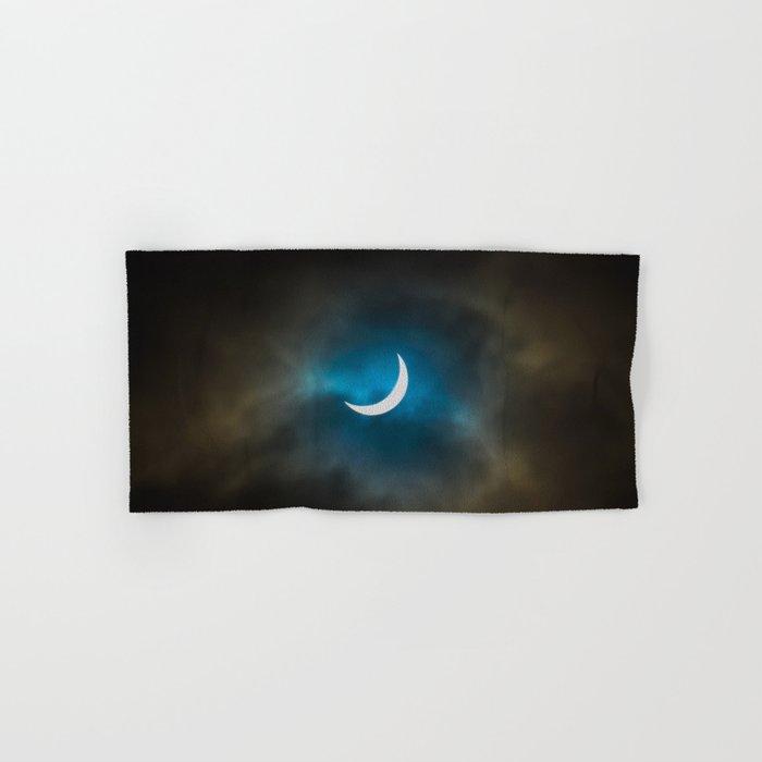 Solar Eclipse 3 Hand & Bath Towel