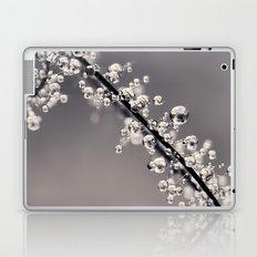 Smoking Drops in B&W Laptop & iPad Skin