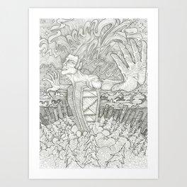 Cosmic Release Art Print