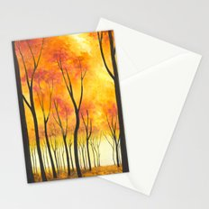 Autumn Forest III Stationery Cards