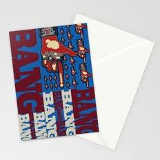 Bang. Bang. Bang. Stationery Cards