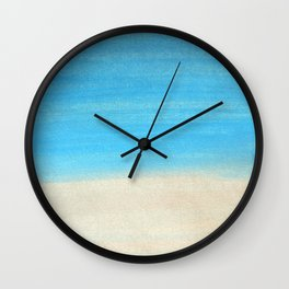 By the Beach Wall Clock
